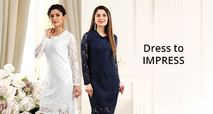 Pack of 2 Lace Dresses-Leyazo
