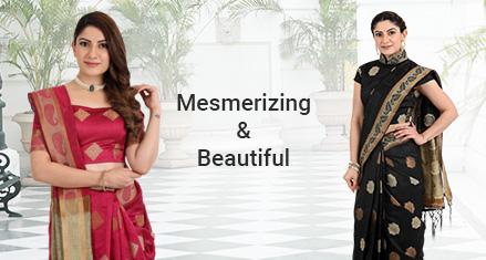 Modern Weave Saree