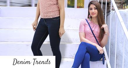 Pack of 2 Women's Fashion Denims