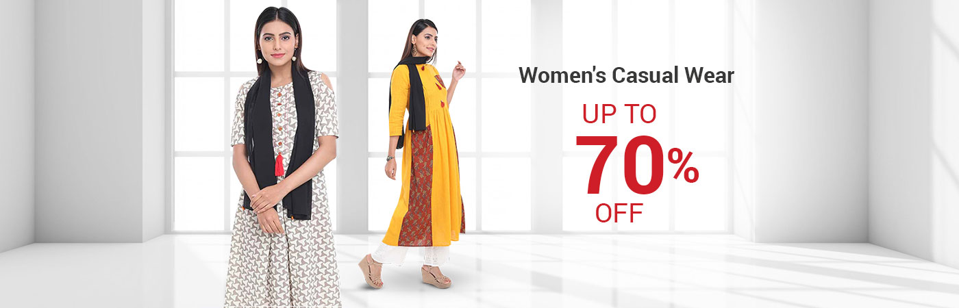 Casual Wear - Online Clothing Shopping for Women - EZMall.com