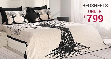 Bedsheets under 799
